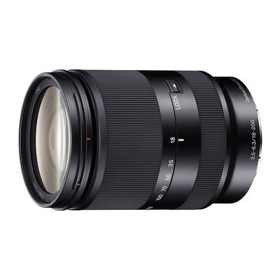 Sony NEX 18-200mm f/3.5-6.3 OSS LE objectief
