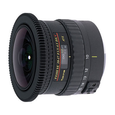 Tokina AT-X 10-17mm f/3.5-4.5 DX NH V Fisheye objectief