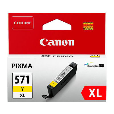 Canon Inktpatroon CLI-571XL - Yellow