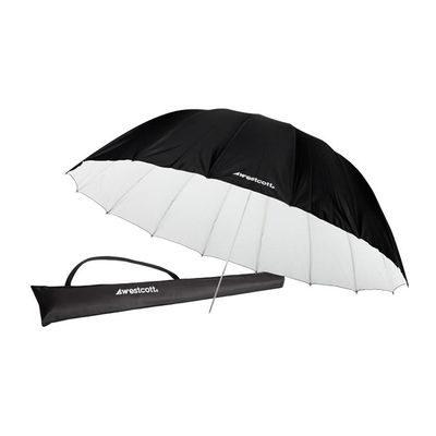 Westcott 4634 White/Black Parabolic Paraplu (213cm/7')