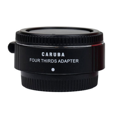 Caruba Lens Mount Adapter (Micro 4/3 naar 4/3) Chroom