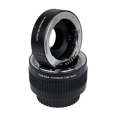 Caruba Extension Tube set Pentax (20/36mm) Chroom