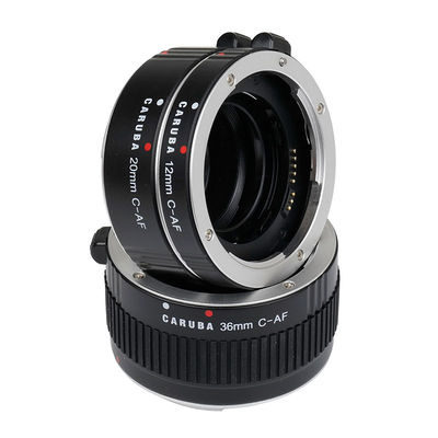 Caruba Extension Tube set Canon Aluminium