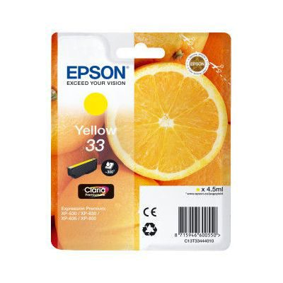Epson Inktpatroon 33 - Yellow