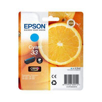 Epson Inktpatroon 33 - Cyan