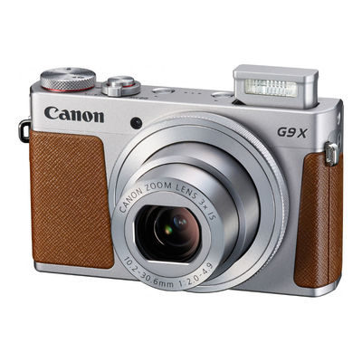 Canon PowerShot G9 X compact camera Zilver