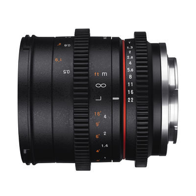 Samyang 50mm T1.3 AS UMC CS VDSLR Canon M objectief