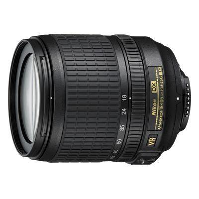 Nikon AF-S 18-105mm f/3.5-5.6G VR ED DX objectief