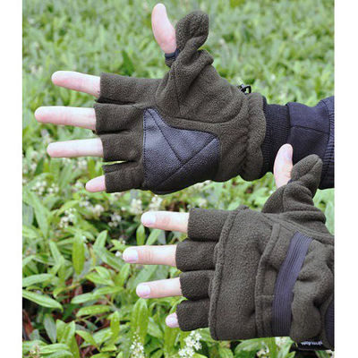 Stealth-Gear Ultimate Freedom Fleece Gloves Eagle (Maat: M-L)
