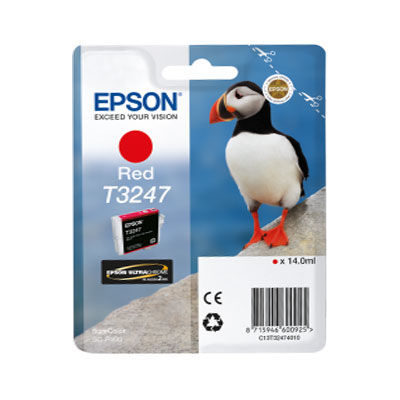 Epson Inktpatroon T3247 Red