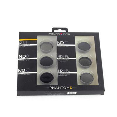 Polar Pro DJI Phantom 3 Limited Edition filter 6-pack