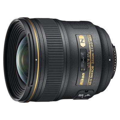 Nikon AF-S 24mm f/1.4G ED objectief