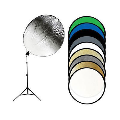Savage 9-in-1 Reflector 109cm Round + Stand