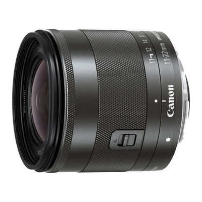 Canon EF-M 11-22mm f/4.0-5.6 IS STM objectief