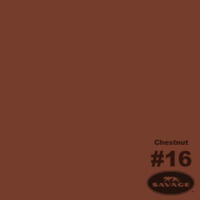 Savage Achtergrondrol Chestnut (nr 16) 1.38m x 11m
