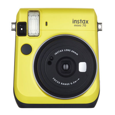 Fujifilm Instax Mini 70 Canary Yellow instant camera