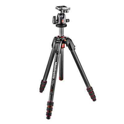 Manfrotto 190 Go! Carbon statief + 496RC2 kop