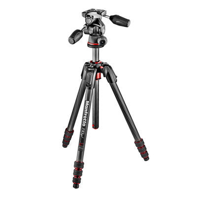 Manfrotto 190 Go! Carbon statief + MH804-3W kop