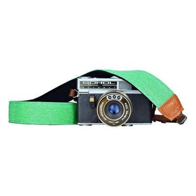 iMo Gras Groen Neopreen Camera Strap