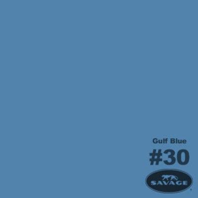 Savage Achtergrondrol Gulf Blue (nr 30) 1.38m x 11m