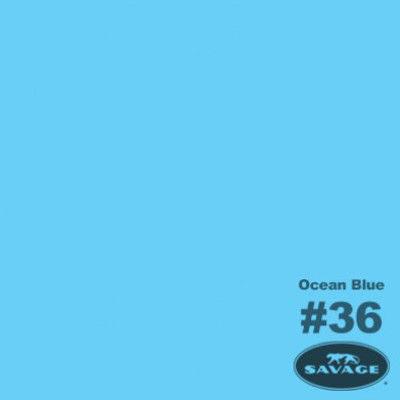 Savage Achtergrondrol Ocean Blue (nr 36) 1.38m x 11m