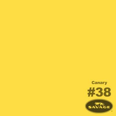 Savage Achtergrondrol Canary (nr 38) 1.38m x 11m