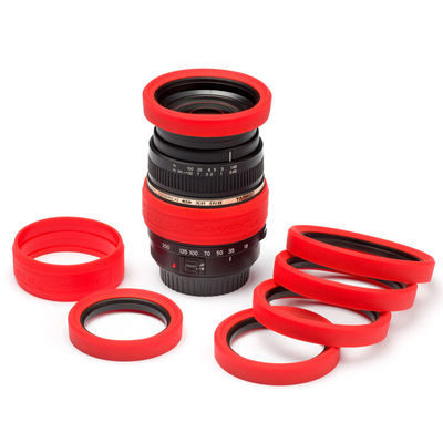 EasyCover lens protection kit 62mm Rood