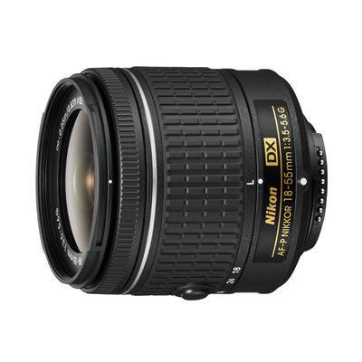 Nikon AF-P 18-55mm f/3.5-5.6G DX objectief