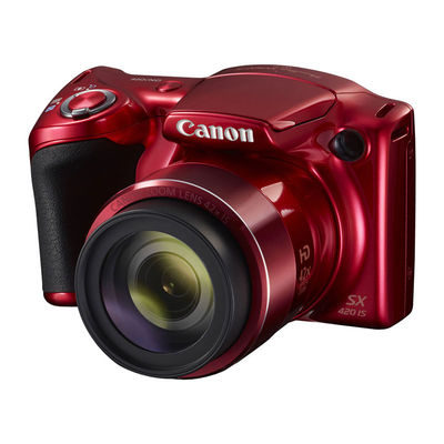 Canon PowerShot SX420 IS compact camera Rood