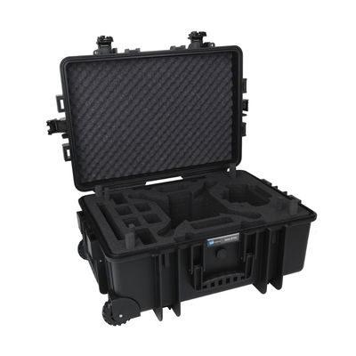 B&W Copter Case Type 6700 Black Hardfoam voor DJI Phantom 3