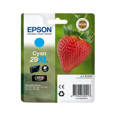 Epson Inktpatroon 29XL - Cyaan
