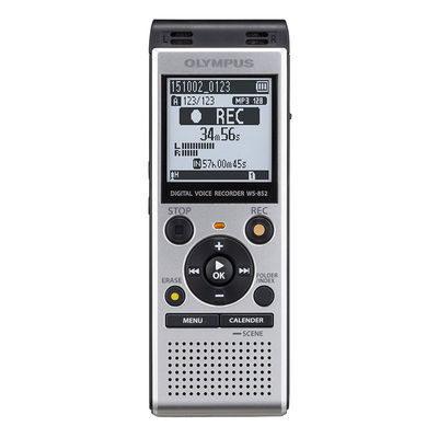 Olympus WS-852 voice recorder Zilver