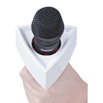 Rycote Single Triangular White Mic Flag