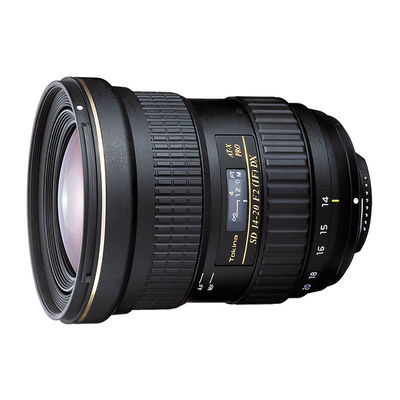 Tokina AT-X 14-20mm f/2.0 Pro DX Canon objectief