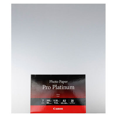 Canon PT-101 Pro Platinum Photo Paper A2 20 sheets