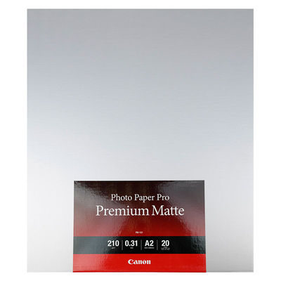 Canon PM-101 Photo Paper Platinum Mat A2 20 sheets