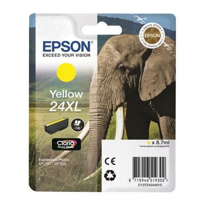 Epson Inktpatroon 24XL - Yellow High Capacity