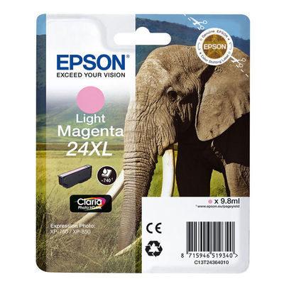 Epson Inktpatroon 24XL - Light Magenta High Capacity