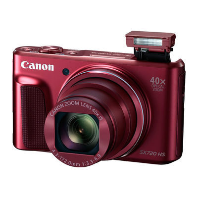 Canon PowerShot SX720 HS compact camera Rood