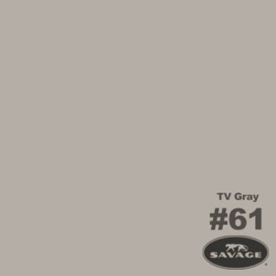 Savage Achtergrondrol TV Grey (nr 61) 1.38m x 11m