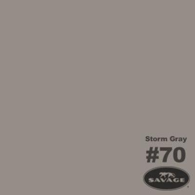Savage Achtergrondrol Storm Grey (nr 70) 1.38m x 11m