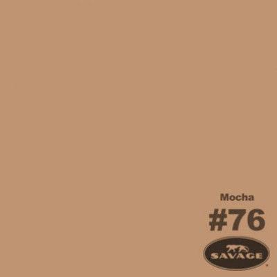 Savage Achtergrondrol Mocha (nr 76) 1.38m x 11m
