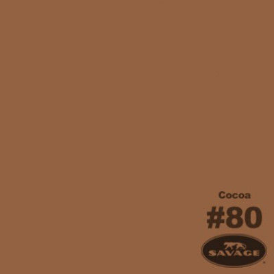 Savage Achtergrondrol Cocoa (nr 80) 1.38m x 11m