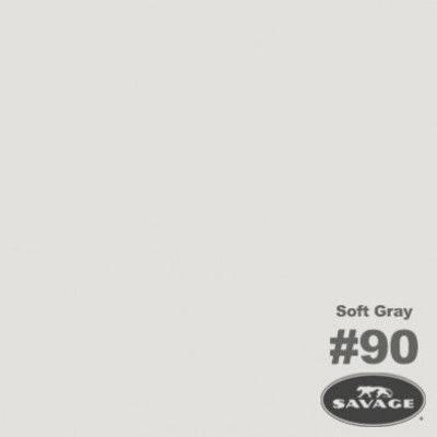 Savage Achtergrondrol Soft Grey (nr 90) 1.38m x 11m