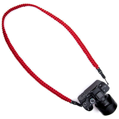 DSPTCH Braided Camera Sling Red Large