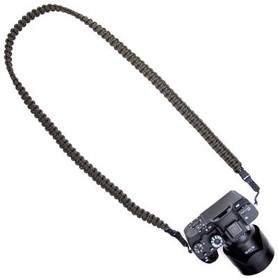 DSPTCH Braided Camera Sling Olive Large