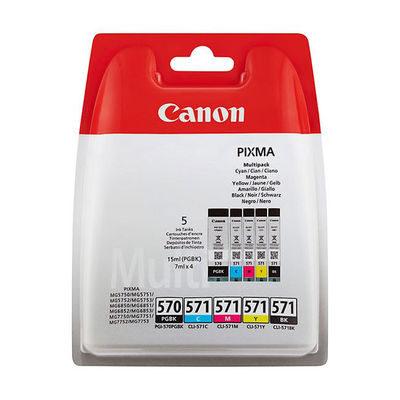 Canon PGI-570/CLI-571 PGBK/C/M/Y/BK multipack
