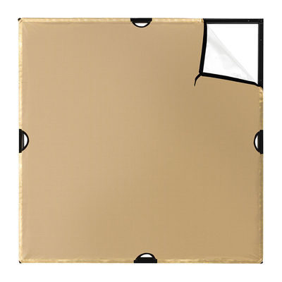 "Westcott Scrim Jim 42"" x 42"" Small Gold / White Reflector"