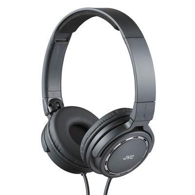 JVC HA-S520 On-Ear koptelefoon Zwart