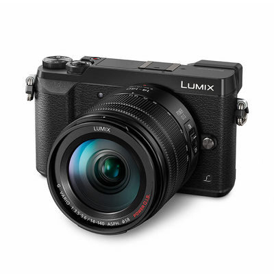 Panasonic DMC-GX80 systeemcamera Zwart + 14-140mm